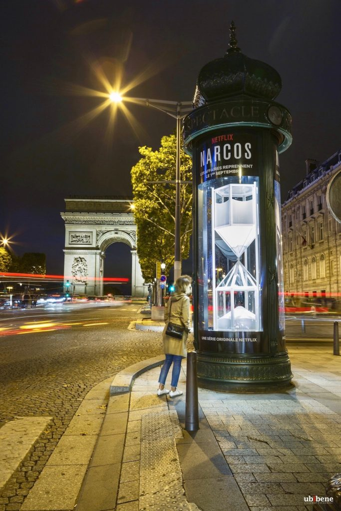 Netflix Narcos 3 : The White Countdown - Avenue Champs Elysées